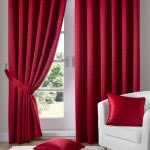 Madison Pencil Pleats Red