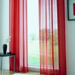 Ring Top Red Voile cropped