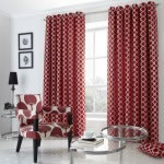 oh curtains red