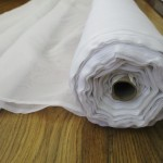 300cm white voile roll main pic